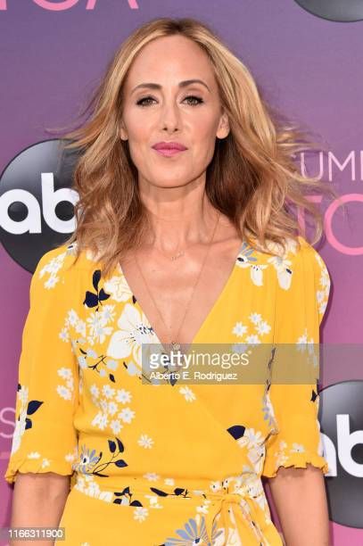 Kim Raver attends ABC's TCA Summer Press Tour Carpet Event on August 05 2019 in West Hollywood California