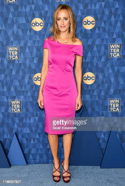 Kim Raver attends the ABC Television's Winter Press Tour 2020 at The Langham Huntington Pasadena on January 08 2020 in Pasadena California