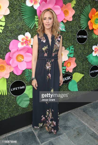 Kim Raver attends the Lifetime Summer Luau on May 20 2019 in Los Angeles California