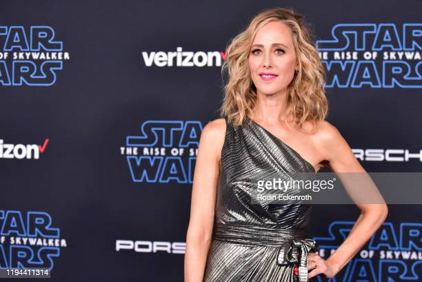 Kim Raver attends the Premiere of Disney's Star Wars The Rise Of Skywalker on December 16 2019 in Hollywood California