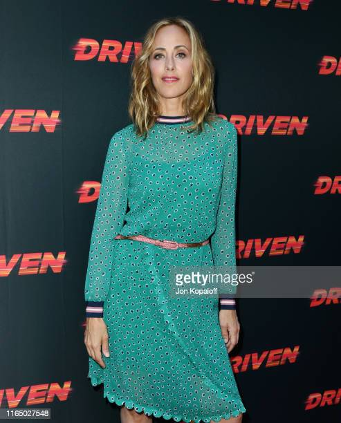 Kim Raver attends Universal Pictures Home Entertainment Content Group's Los Angeles Premiere Of Driven at ArcLight Hollywood on July 29 2019 in...