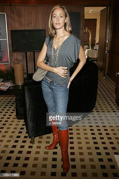 Kim Raver during 2005 Oscar's Award Lounge Hosted by Extra at The Century Plaza Hotel Extra Suite in Hollywood California United States