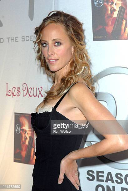 Kim Raver during 24 Season Five DVD Collection Launch Party at Las Deux in Hollywood California United States