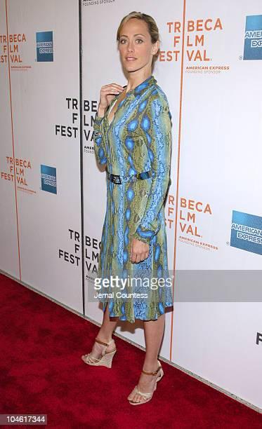 Kim Raver during 4th Annual Tribeca Film Festival Slingshot Premiere at Stuyvesant High School in New York City New York United States