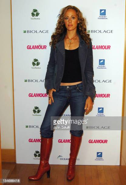 Kim Raver during Glamour Presents Biolage Golden Globe Style Lounge Day 2 at L'Ermitage Hotel in Beverly Hills California United States