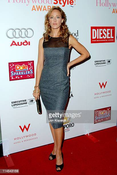 Kim Raver during Movieline Hollywood Life Style Awards Arrivals at Pacific Design Center in West Hollywood California United States