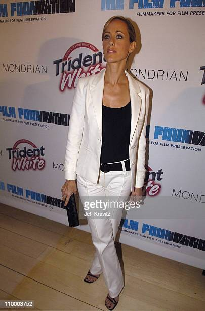 Kim Raver during Trident White Presents Black and White Party Hosted by McG and Stephanie Savage Benefitting Martin Scorsese's Film Foundation...