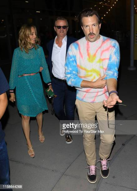 Kim Raver Nick Hamm and Jason Sudekis are seen on July 29 2019 at Los Angeles