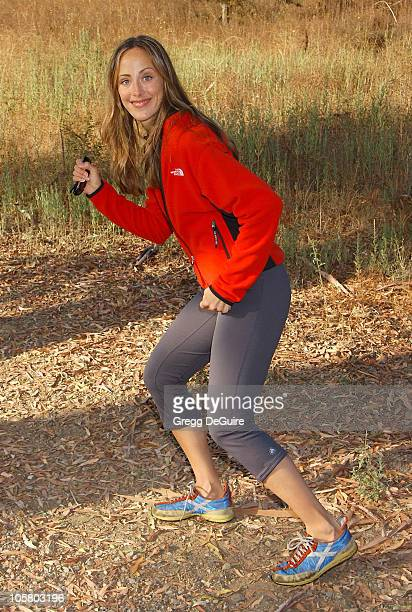 Kim Raver of Third Watch during 8th Annual Expedition Inspiration TakeAHike at Paramount Ranch in Agoura California United States