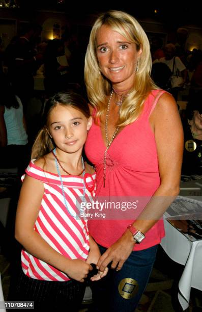 Kim Richards and daughter Kimberly during Hollywood Collectors Celebrities Show 2004 at Beverly Garland's Holiday Inn in North Hollywood California...