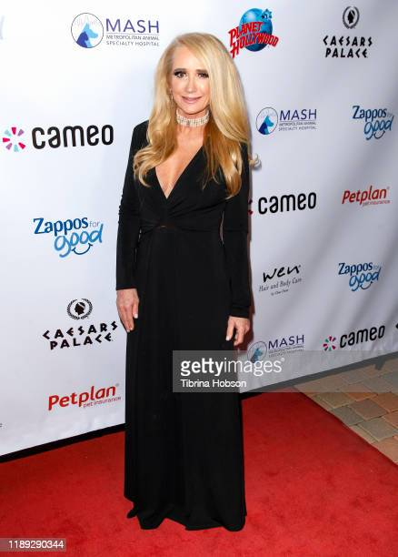 Kim Richards attends the 4th annual Vanderpump Dog Foundation Gala at Taglyan Cultural Complex on November 21 2019 in Hollywood California