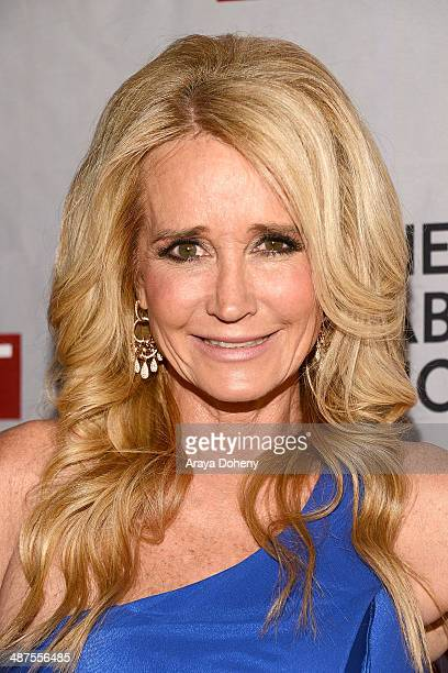 Kim Richards attends the REVOLT NCTA Host VIP Gala For Talent Cable Execs at Belasco Theatre on April 30 2014 in Los Angeles California