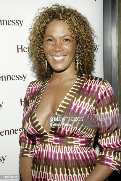 Kim Richardson during Black Sport Agents Association presents the 2006 Achievement Awards and After Party Sponsored by Hennessy at Tribeca Penthouse...