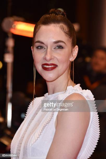 Kim Riedle attends the 'Django' premiere during the 67th Berlinale International Film Festival Berlin at Berlinale Palace on February 9 2017 in...