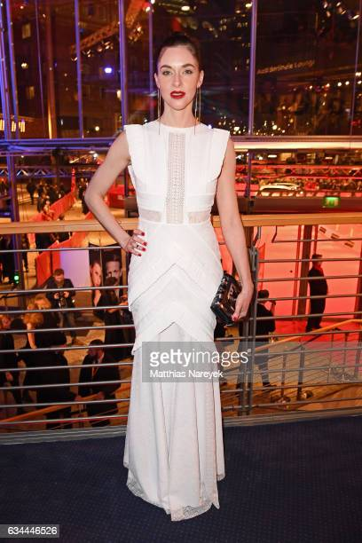 Kim Riedle attends the opening party during the 67th Berlinale International Film Festival Berlin at Berlinale Palace on February 9 2017 in Berlin...