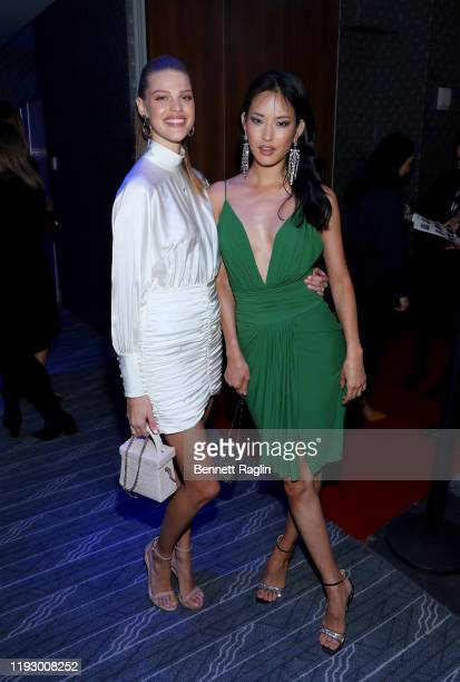 Kim Riekenberg and HyunJoo Hwang attend the Sports Illustrated Sportsperson Of The Year 2019 at The Ziegfeld Ballroom on December 09 2019 in New York...