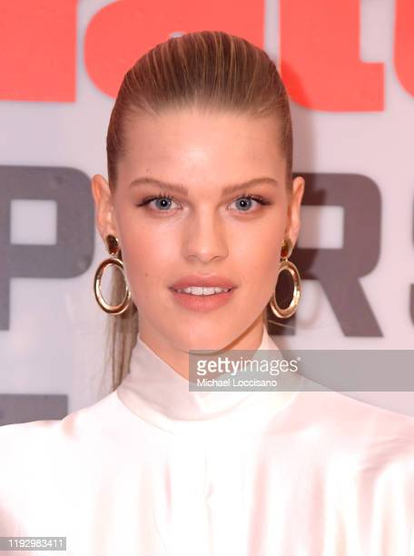 Kim Riekenberg attends the 2019 Sports Illustrated Sportsperson Of The Year at The Ziegfeld Ballroom on December 09 2019 in New York City