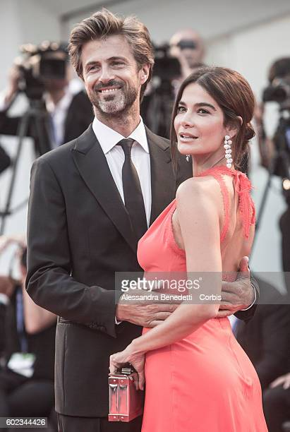 Kim Rossi Stuart and Ilaria Spada attend the Closing Ceremony during the 73rd Venice Film Festival at Palazzo del Cinema on September 10 2016 in...
