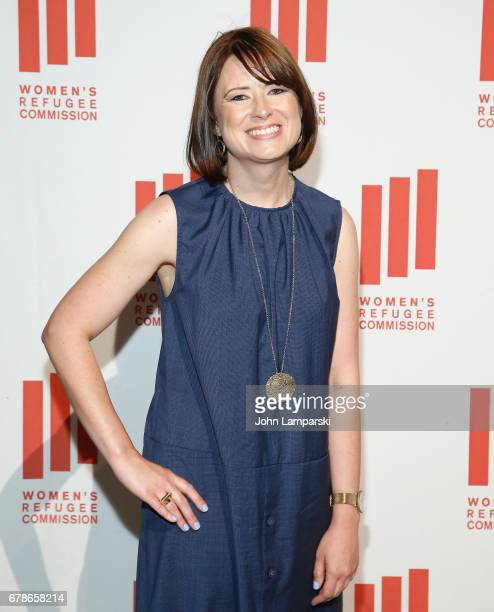 Kim Rubey of Airbnb attends 2017 Women's Refugee Commission Voices Of Courage Awards at Cipriani 42nd Street on May 4 2017 in New York City