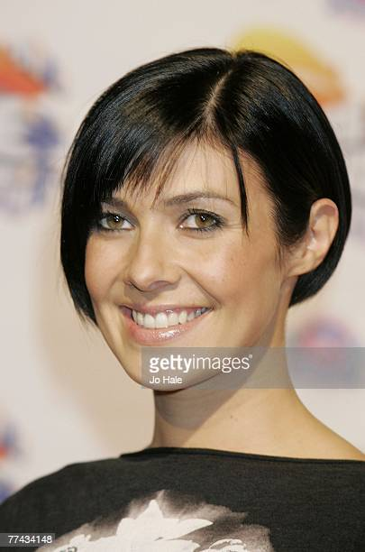 Kim Ryder arrives at the Nickelodeon Kids' Choice Awards at ExCel on October 20 2007 in London