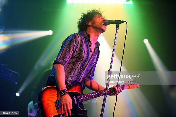 Kim Salmon of The Scientists perform onstage at All Tomorrow's Parties New York Festival 2010 Day 1 at Kutshers Country Club on September 3, 2010 in...