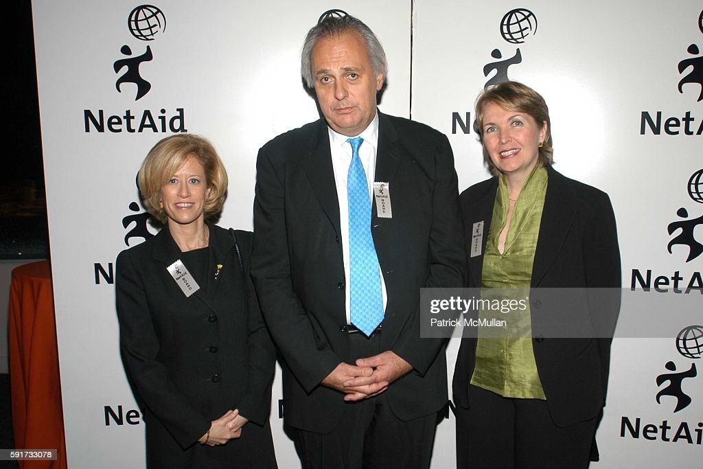 Kim Samuel-Johnson, Mark Malloch Brown and Kim Hamilton attend NetAid 2005 Global Action Awards at Jazz at Lincoln Center on November 9, 2005 in New York City.