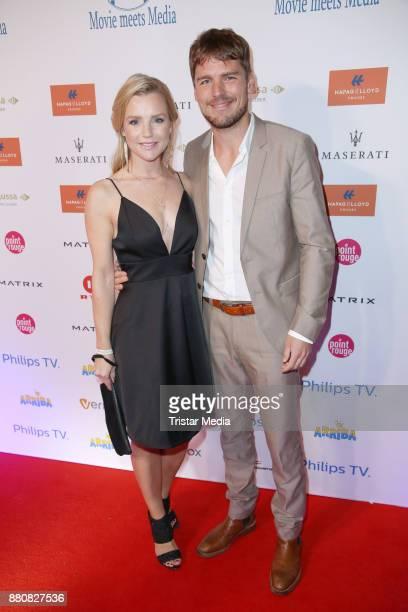 Kim Sarah Brandts and guest attend the Movie Meets Media event 2017 at Hotel Atlantic Kempinski on November 27 2017 in Hamburg Germany