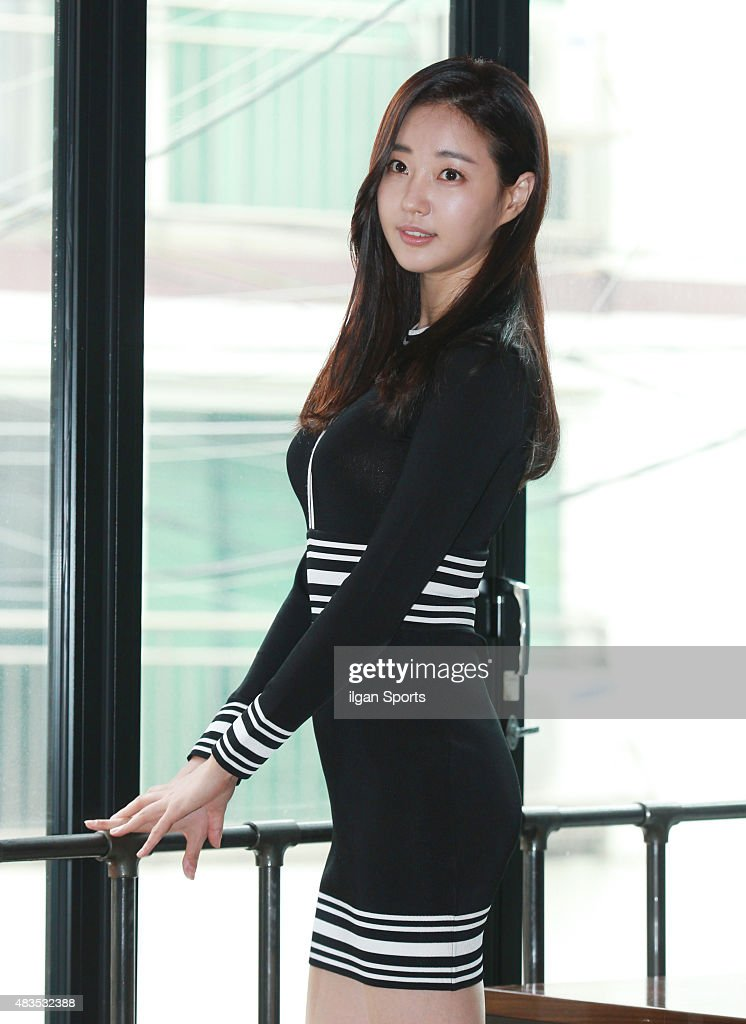 Kim Sa-Rang poses for photographs on July 31, 2015 in ...
