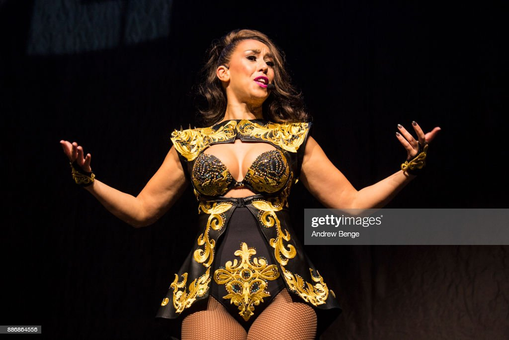 ONLY. Kim Sasabone of Vengaboys performs at First Direct