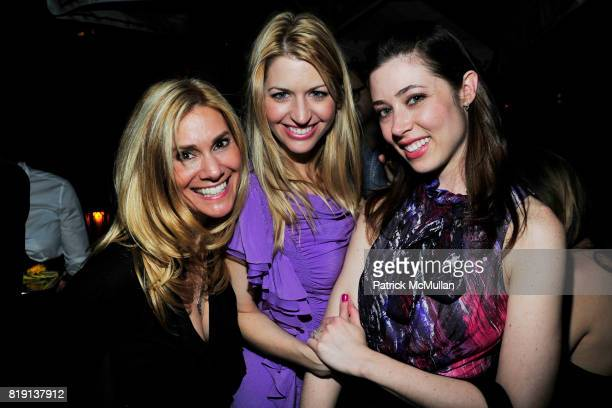 Kim Schienberg Jamie Anderson Alissa Dean attend NICOLAS BERGGRUEN's 2010 Annual Party at the Chateau Marmont on March 3 2010 in West Hollywood...