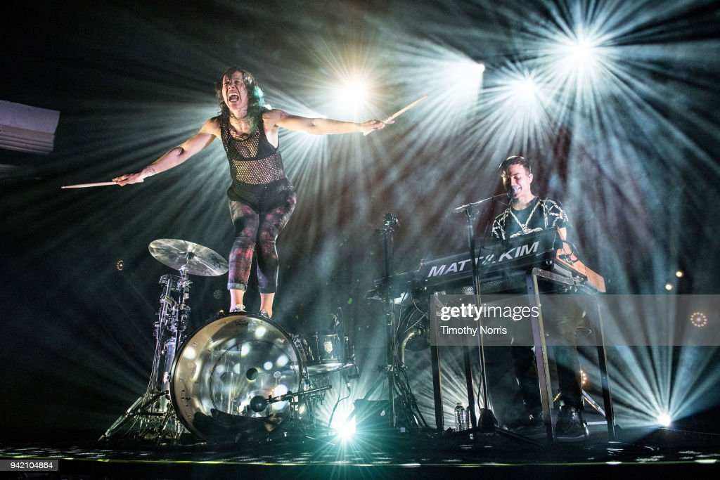 Matt And Kim Perform At Hollywood Palladium