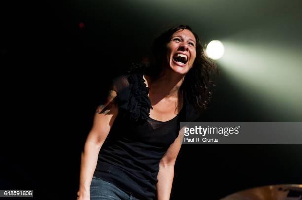 Kim Schifino of Matt Kim performs on stage at the Fonda Theatre on June 17 2011 in Los Angeles California