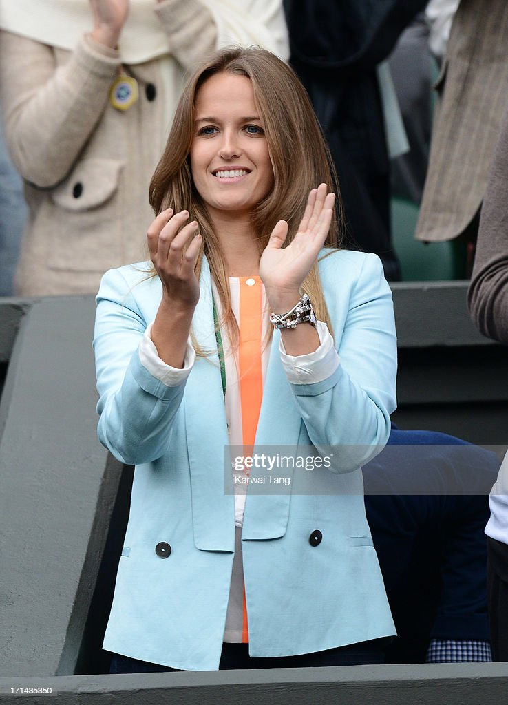 Kim Sears attends Day 1 of the Wimbledon 2013 tennis championships at Wimbledon on June 24, 2013 in London, England.