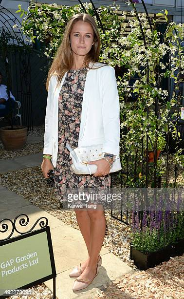 Kim Sears attends the VIP preview day of The Chelsea Flower Show held at the Royal Hospital Chelsea on May 19, 2014 in London, England.