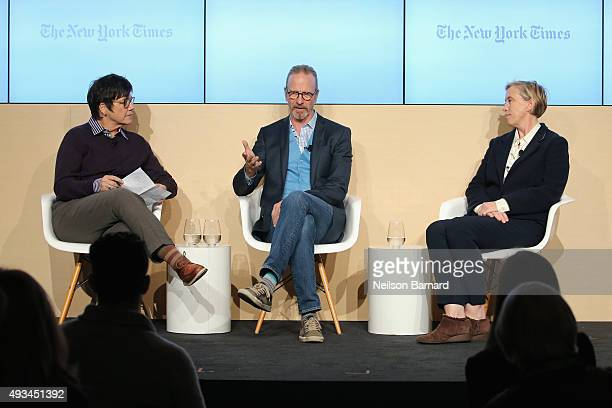 Kim Severson, domestic correspondent, The New York Times moderates Michel Nischan, founder & C.E.O., Wholesome Wave and Jilly Stephens, executive...