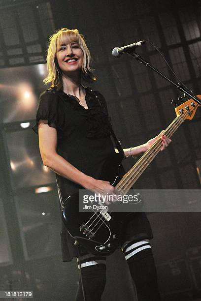 Kim Shattuck of The Pixies performs live on stage on Day 25 of iTunes Festival 2013 at The Roundhouse on September 25, 2013 in London, England.