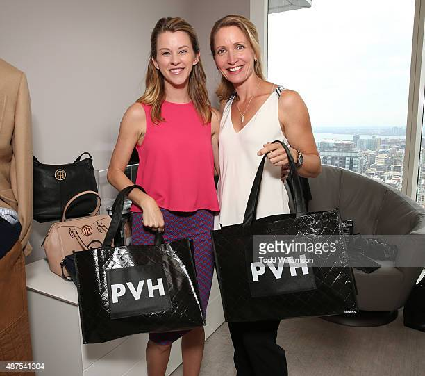 Kim Shaw and Michelle Nolden attend the 7th Annual BaskItStyle TIFF Media Day On Wednesday September 9 Held At The Private Estates Above The...