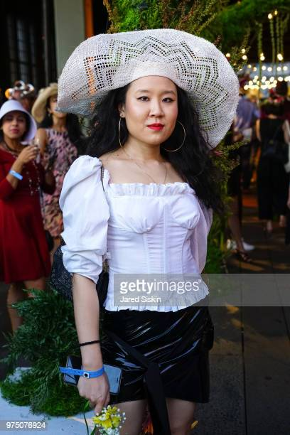 Kim Shui attends the 2018 High Line Hat Party at the The High Line on June 14 2018 in New York City