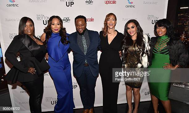 Kim Smedley Chrystale Wilson Satchel Jester Christine Beatty Sara Stokes and Stacii Jae Johnson attend From the Bottom Up Presented by Centric at...