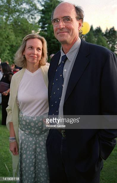 Kim Smedvig and her fiance singer James Taylor attend the opening night party at Tanglewood