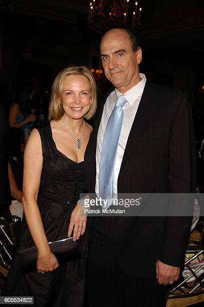 Kim Smedvig and James Taylor attend Rainforest Foundation Fund Benefit Concert Dinner at Pierre Hotel NYC on May 19 2006 in New York City