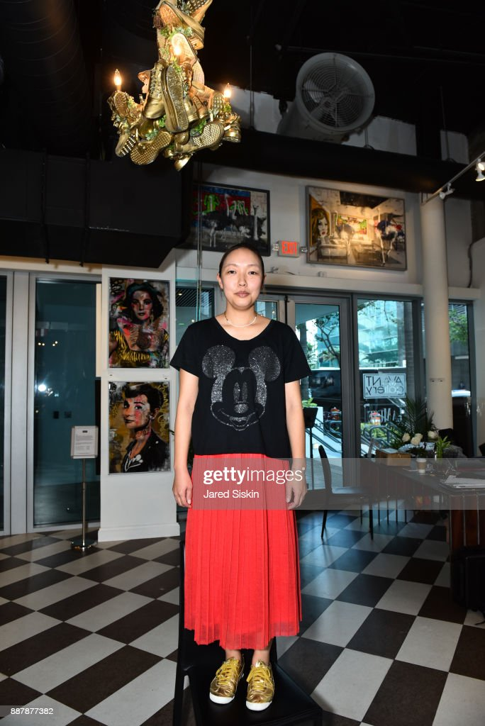 Kim Songhe attends Avant Gallery Celebrates 10th Anniversary With The First Breakfast At LaMuse Cafe During Art Basel on December 7, 2017 in Miami, Florida.