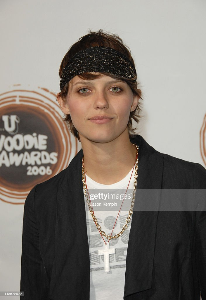 Kim Stolz, mtvU VJ during 2006 mtvU Woodie Awards - Arrivals at Roseland Ballroom in New York City, New York, United States.