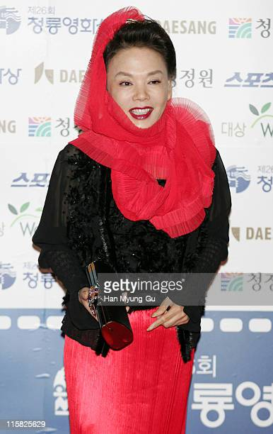 Kim Su-Mi during 26th Annual Blue Dragon Film Awards - Arrivals at Youido, KBS Hall in Seoul, South, South Korea.