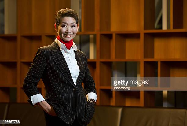 Kim Sung Joo chairwoman and founder of Sungjoo Group poses for a portrait in Seoul South Korea on Thursday Nov 15 2012 Kim who refused an arranged...
