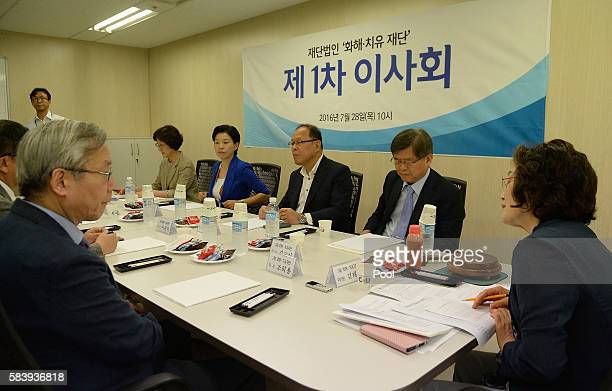 Kim Tae-Hyun , head of a preparation committee for a fund aimed at compensating Korean victims of Japanese wartime military brothels, and other...