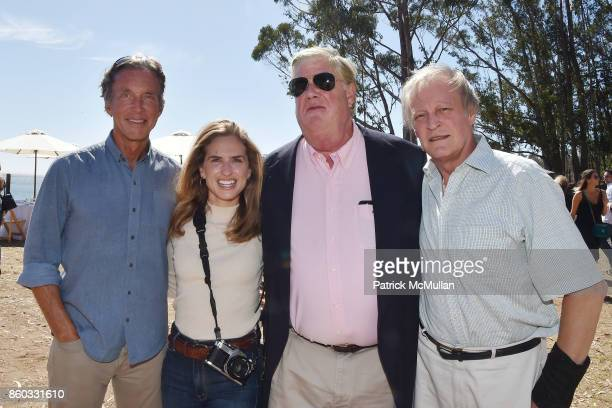 Kim Taipale Ashley Bush Greg Hampton and Patrick McMullan attend Hearst Castle Preservation Foundation Annual Benefit Weekend 'Lunch at the Hearst...
