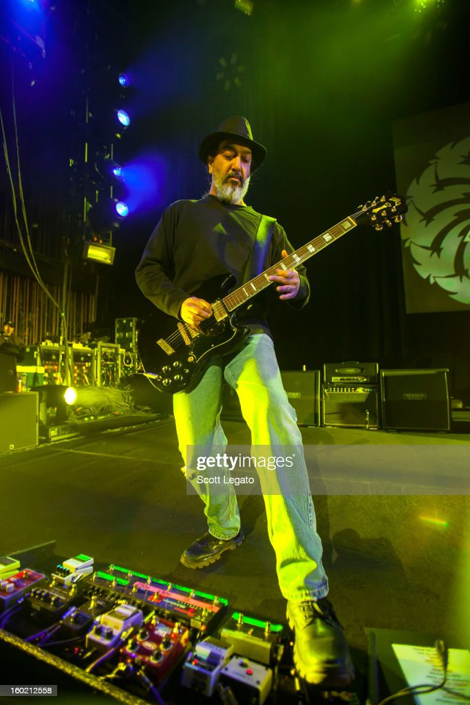 Kim Thayil of Soundgarden performs in concert at The Fillmore on January 27, 2013 in Detroit, Michigan.