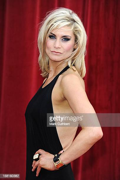Kim Tiddy Arriving For The 2011 British Soap Awards At Granada Studios Manchester