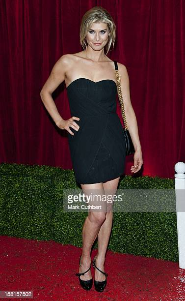 Kim Tiddy Arriving For The 2012 British Soap Awards At Itv London Studios South Bank London